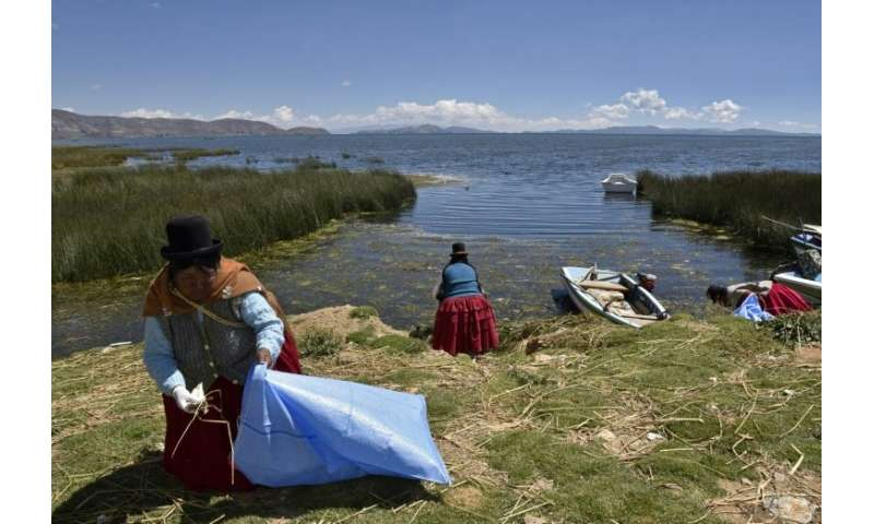 The local Aymara people call Titicaca the 'sacred lake'
