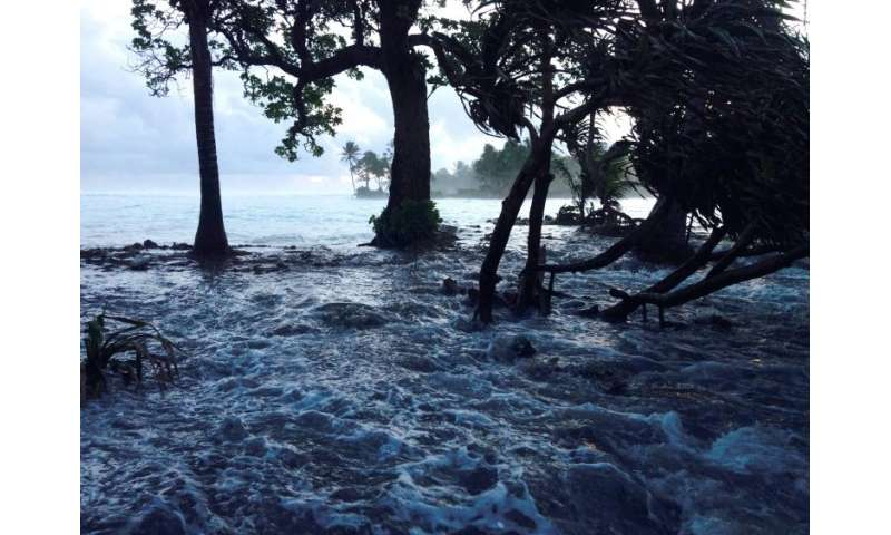 The low-lying Marshall Islands will drown beneath rising seas if global warming continues unabated