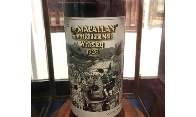 The Macallan, in Craigellachie, northern Scotland only ever produced 40 bottles from its 1926 vintage that had matured for 60 ye