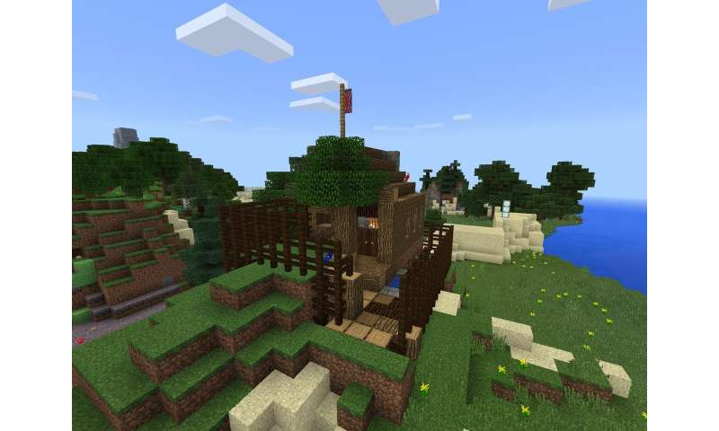 The magic of secret islands creates safe haven for literary classics on Minecraft.edu