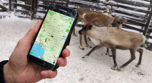 Then one foggy Christmas eve, reindeers got connected