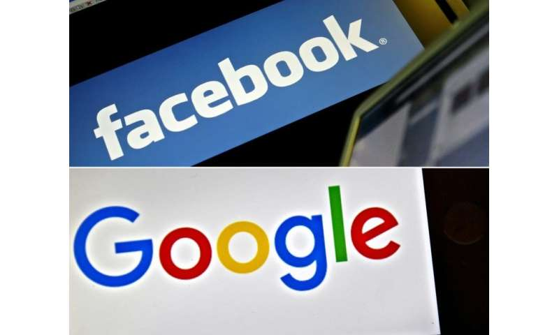 Image result for Facebook, Google 'manipulate' users to share data despite EU law: study