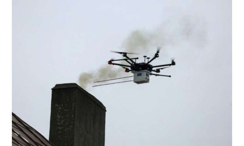 The Polish city of Katowice monitors smoke with drones, but the country is defensive about its reliance on coal-fired power stat