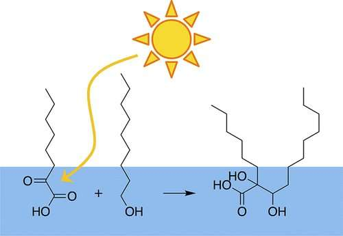 The 'radical' ways sunlight builds bigger molecules in the atmosphere