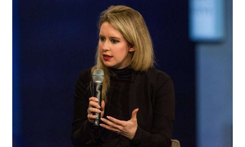 Theranos founder Elizabeth Holmes, a onetime Silicon Valley star who claimed to have developed a revolutionary blood-testing pro
