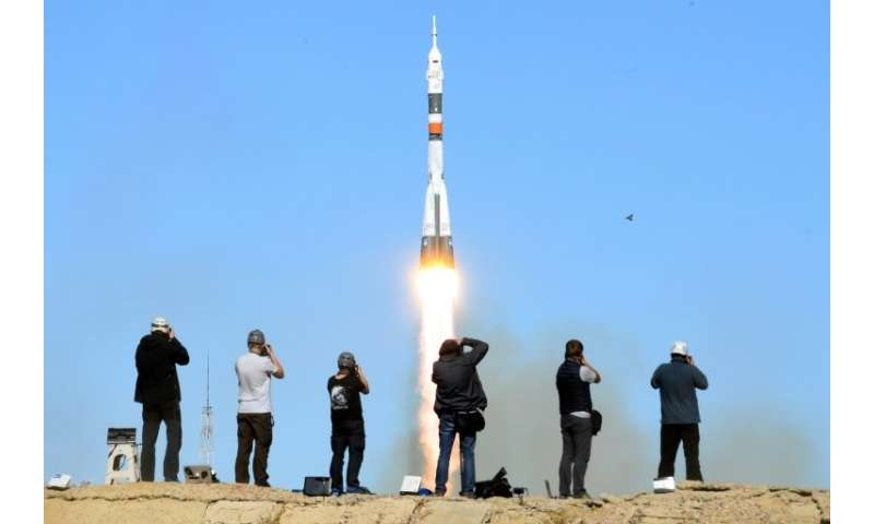 The Soviet-designed Soyuz rocket failed on October 11 just minutes after blast-off