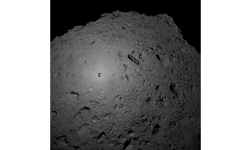 The surface of the asteroid is more rugged than scientists initially thought
