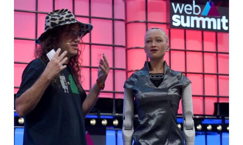 The use of artificial intelligence was highlighted at the four-day Web Summit in Lisbon