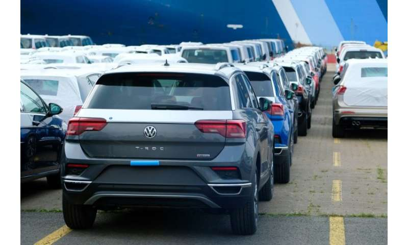 eb8622399af The VW group delivered a record 2.8 million vehicles in the second quarter