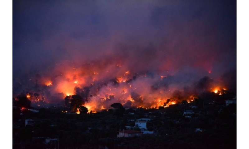 The wildfires raging near Athens, which have claimed at least 50 lives, are among the deadliest in Europe this century
