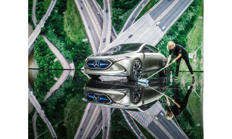 Things will get slippery for German carmakers as e-cars gain traction, a study finds