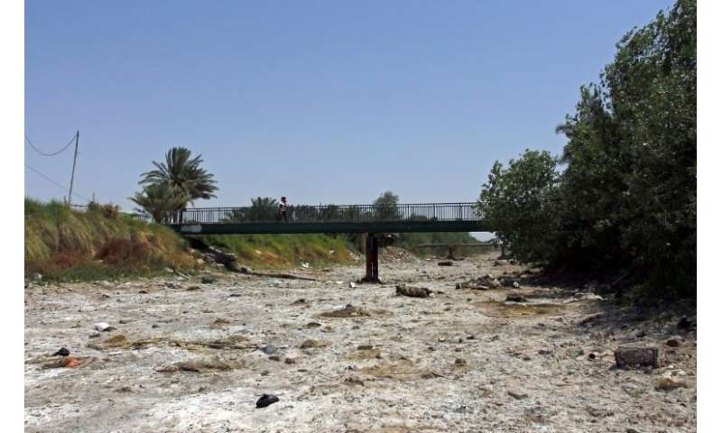 This year rainfall in Iraq has been particularly scarce and reservoirs currently stand at only 10 percent full
