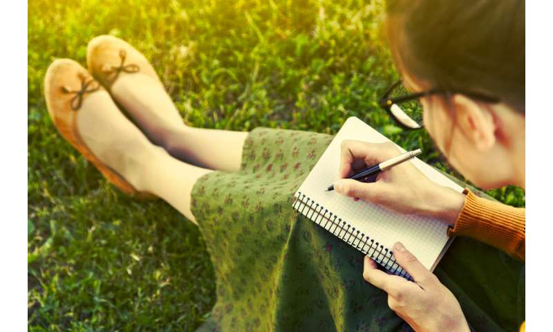 To reduce stress and anxiety, write your happy thoughts down