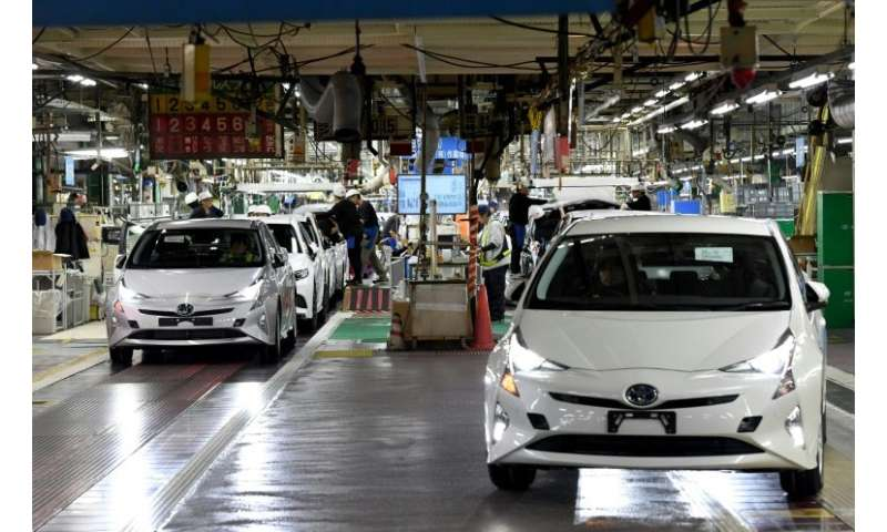 Toyota has sold more than 10 million hybrid gasoline-electric vehicles globally, including the Prius, since 1997