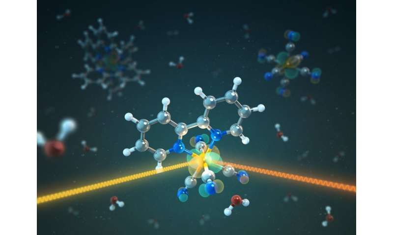 Transition metal complexes: Mixed works better