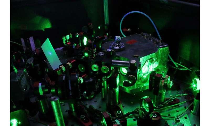 Transportable laser