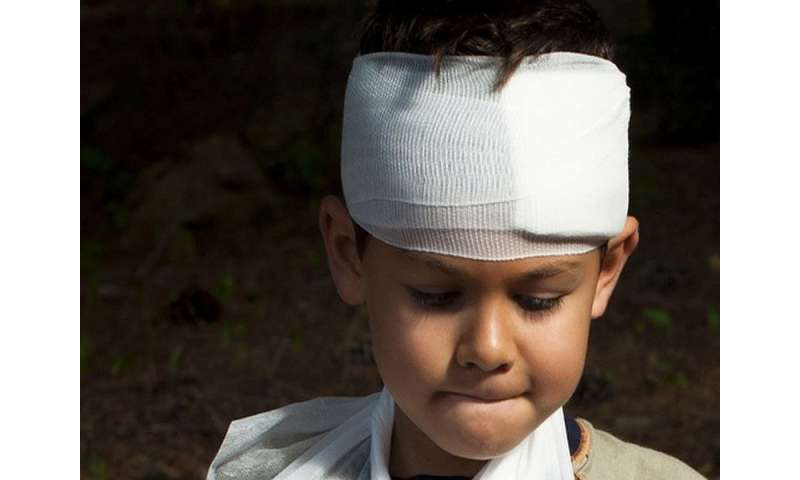 Traumatic brain injury rare for children with isolated vomiting