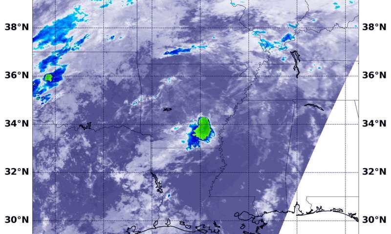 Tropical Depression Gordon still lingering over Arkansas