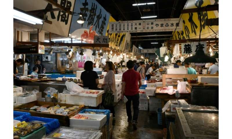 Tsukiji fish market has long been a tourist magnet for its pre-dawn tuna auctions