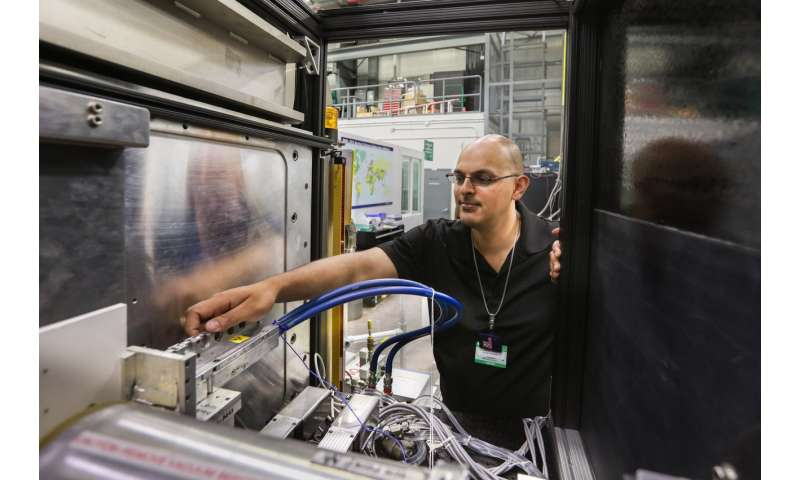 Two steps ahead--neutrons help explore future HIV treatments