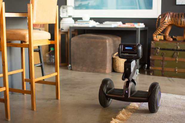 Two-wheel transporter will transform into smart sidekick