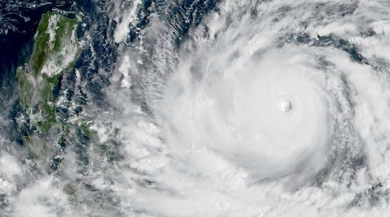 Typhoons such as Mangkhut, heading for the Philippines, start life as simple thunderstorms.