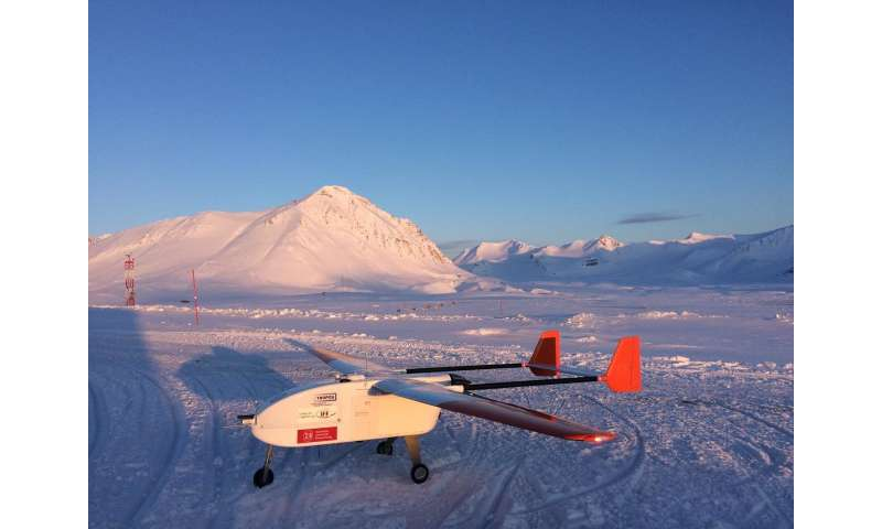 UAV aircrafts provide new insights into the formation of the smallest particles in Arctic