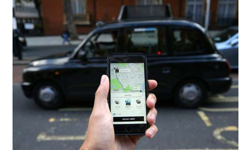 Uber is capping drivers' daily working hours in Britain