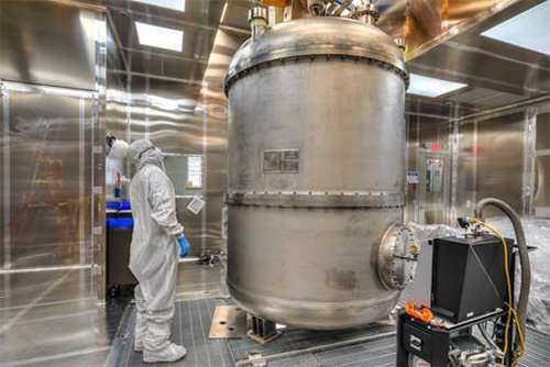 UK delivers super-cool kit to USA for Next-Generation Dark Matter Experiment