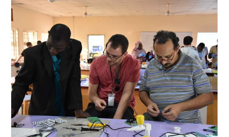 UK scientists opening up access to science through DIY equipment