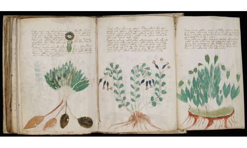 Using AI to uncover the mystery of an ancient manuscript
