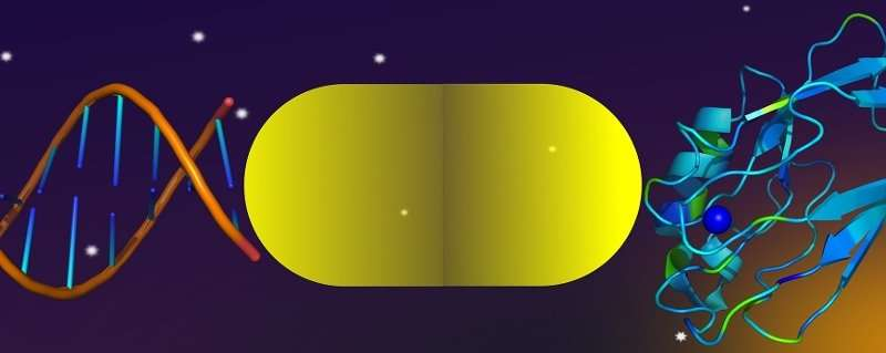 Using gold particles to make the invisible visible