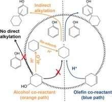 Using molecular spectroscopy to study reaction mechanisms