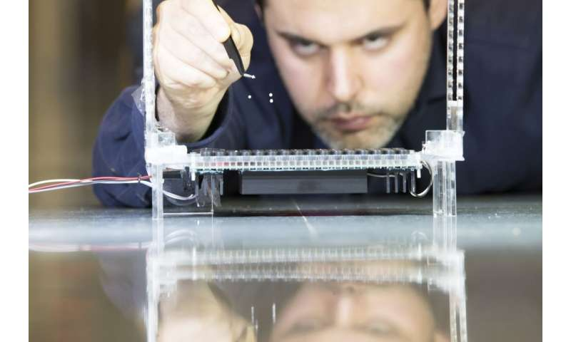 Using sound to independently levitate a range of objects is achieved for the first time