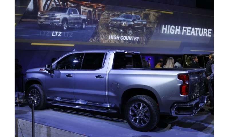 US plant shutdowns to prepare for new General Motors models like the 2019 Chevrolet Silverado 1500 led to lower North American s
