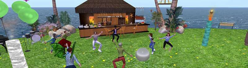 Virtual world addresses problems of stroke-related communication condition
