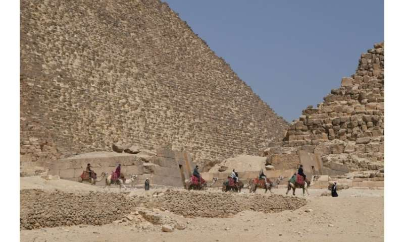 Visitor numbers to Egypt plunged after the 2011 revolt