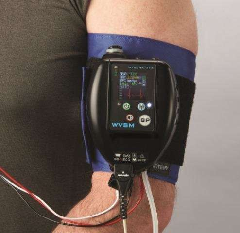 Vital signs: High-tech, portable health monitor treats warfighters and civilians