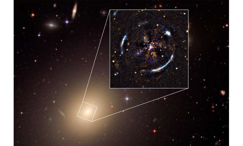 VLT makes most precise test of Einstein's general relativity outside Milky Way