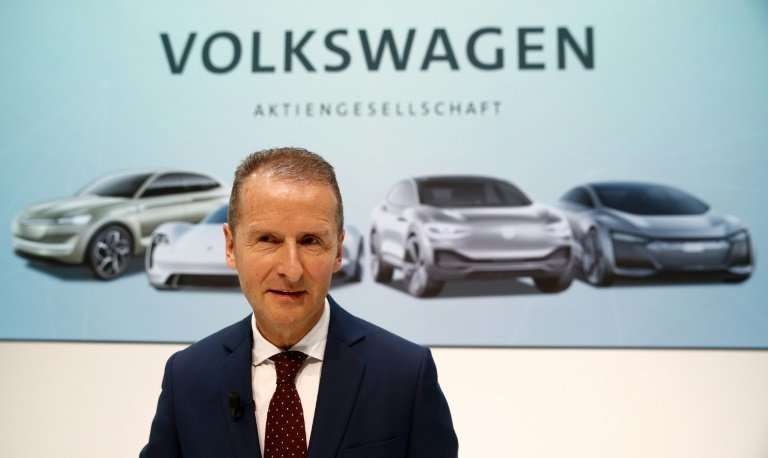 Volkswagen CEO Herbert Diess  has vowed to steer the company out of the Dieselgate cloud and continue its pivot towards the gree