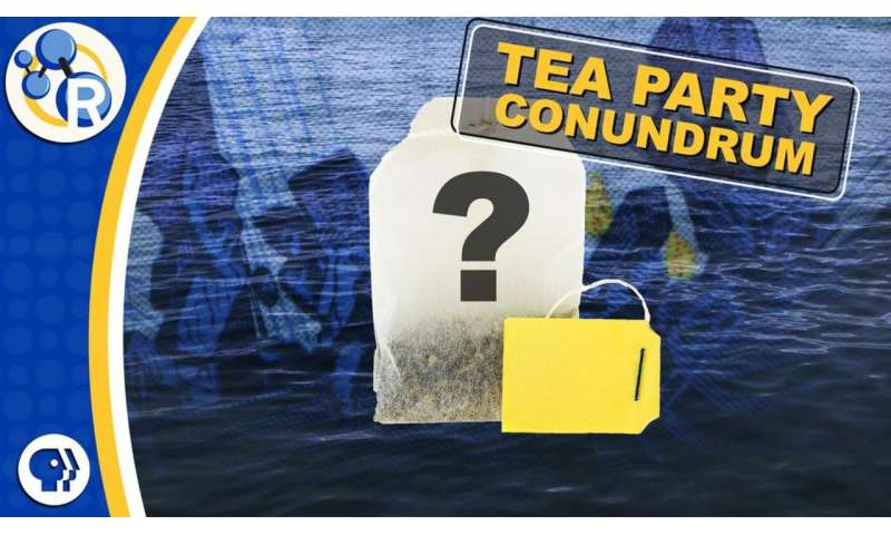What would it take to turn Boston harbor into tea? (video)