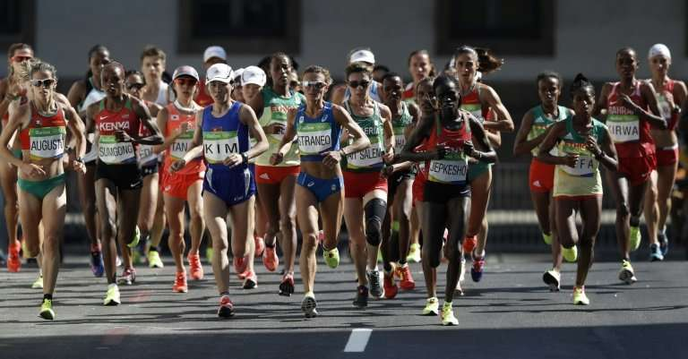 While the marathon will start early, some officials are worrying about the lack of shade on the later stages