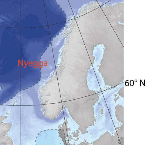 Why did gas hydrates melt at the end of the last ice age?