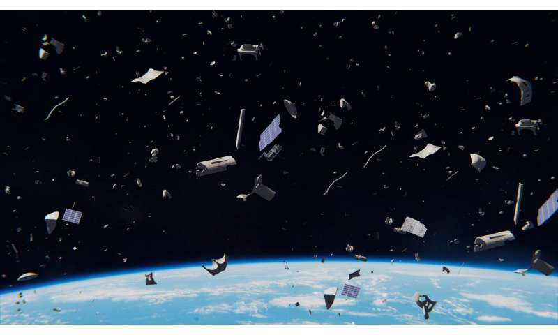 Why space debris cleanup might be a national security threat