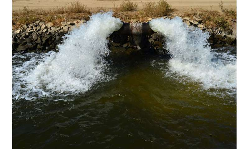 Widespread groundwater contamination risk from chromium