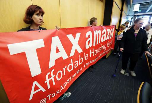 Will Amazon's work to kill Seattle tax spook other cities?