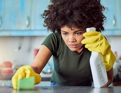 Women who clean at home or work face increased lung function decline