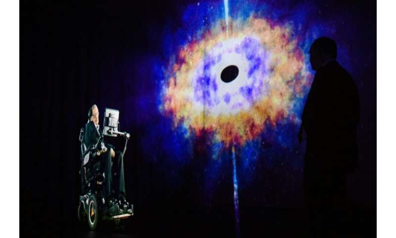 World renowned physicist Stephen Hawking died in March at the age of 76