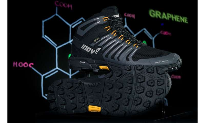 World's first- ever graphene hiking boots unveiled