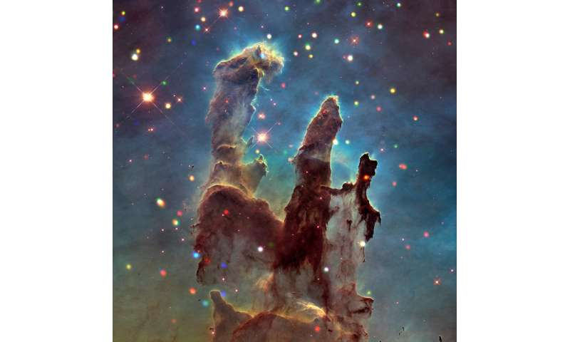 'X'-ploring the Eagle Nebula and 'Pillars of Creation'